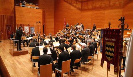 La Festa de Moros i Cristians estrena les seues marxes en un pregó-concert a l'Auditori