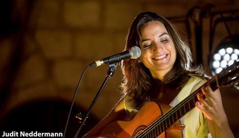 Judit Neddermann, al Festival Strenes de Girona el mes passat.