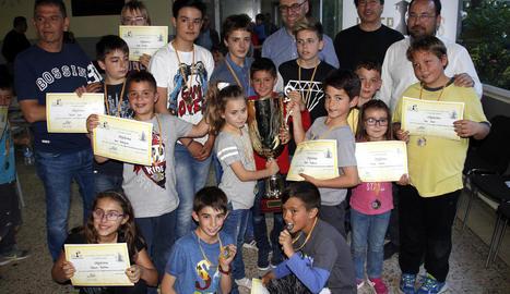 El col·legi Sant Jaume guanya la Lliga Adejo
