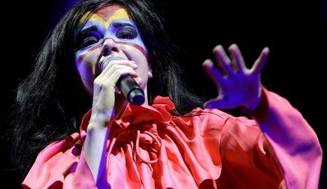 La islandesa Björk, protagonista de la jornada inaugural del Sónar.