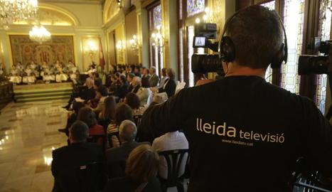 Lleida TV plantarà les seues càmeres de nou al saló de plens.