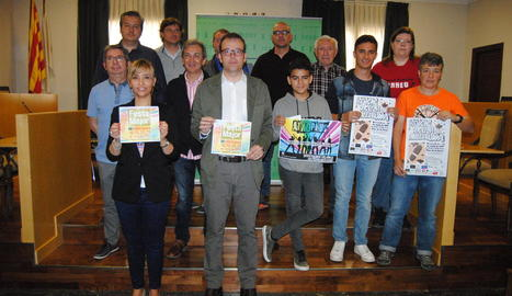 L'ajuntament va acollir la presentació del programa de festes.