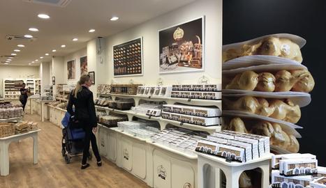 La nova botiga de Torrons Vicens  a Barcelona.