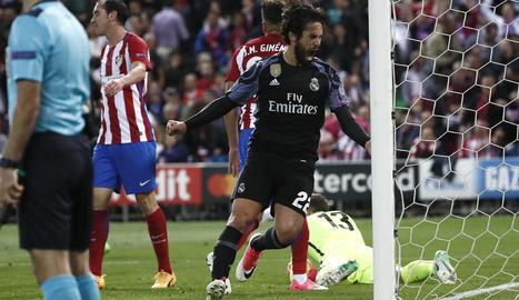 El gol d'Isco va arruïnar totes les esperances matalasseres de remuntar el 3-0 de l'anada.