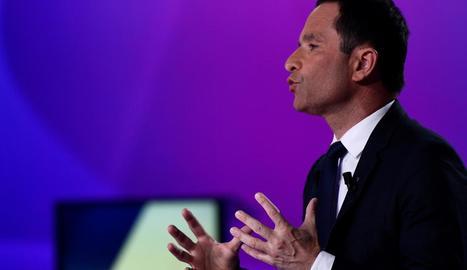 L'excandidat socialista a les presidencials, Benoît Hamon.