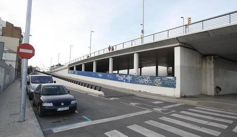 L'espai en el qual està prevista la nova estació d'autobusos.
