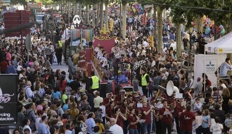 Imágenes de la Fiesta Mayor de Lleida