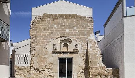 L'església de Santa Maria de Vilanova de la Barca.