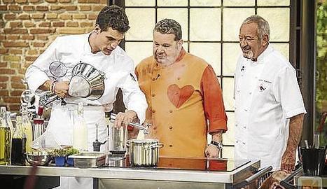 Chicote i Arguiñano, a 'Top Chef'.