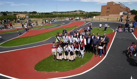 Alpicat inaugura el Pump Track, un espai lúdic i familiar únic a Catalunya.