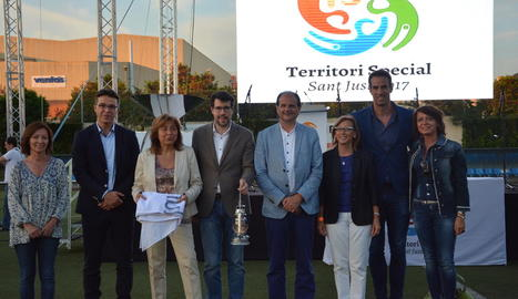La Seu d'Urgell rep el Foc Olímpic com a seu de l'Special Olympics