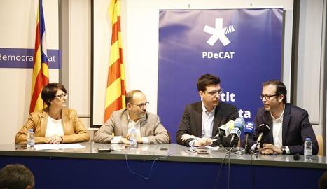 El PDeCAT presenta 153 esmenes als pressupostos generals i reclamen 240 milions més per a Lleida