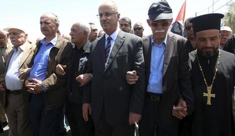 Els palestins recorden amb 69 segons de silenci la seua Catàstrofe
