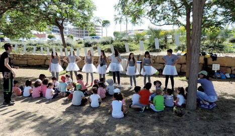 Una de les activitats de la jornada 'La màgia de la música'.