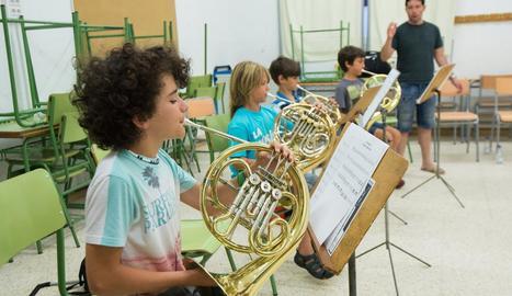 Una classe del curs de música de l'edició de l'estiu passat.