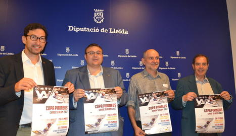 La primera prova de la Copa Pirineus de la Seu es va presentar ahir a la Diputació.