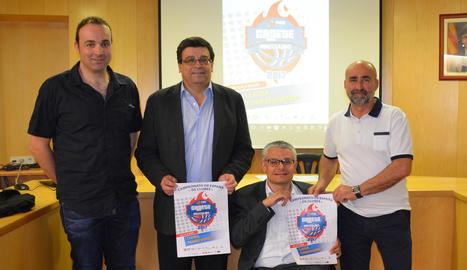 L'organització va presentar ahir els partits a Torrefarrera.