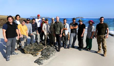 'La isla', supervivència al límit