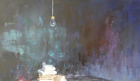 La pintura 'Quan la inspiració s'esvaeix', d'Humedas.