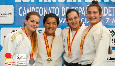Ai Tsunoda, del Dojo Lleida, campiona d'Espanya cadet de