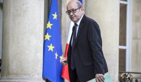Imatge del nou ministre d'Exteriors, Jean-Yves Le Drian.