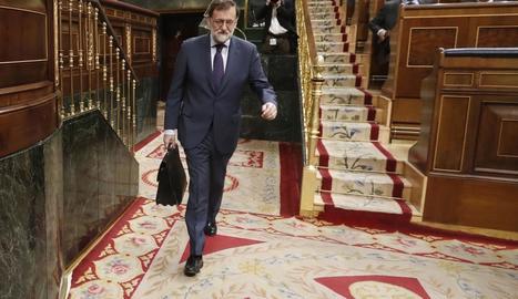 Mariano Rajoy va ser ahir el blanc de les crítiques de tota l'oposició.