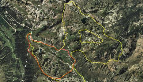 Mapa de l'ampliació