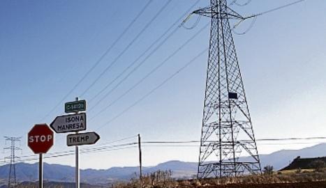 Torres elèctriques al Pallars