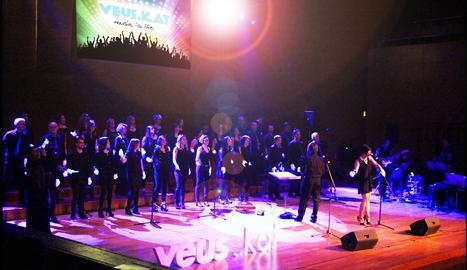 Veus.kat, cor de música moderna i jazz de Lleida