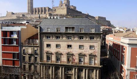 L'edifici de l'antiga Audiència acollirà el museu Morera.