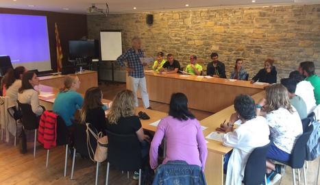 Un dels cursos impartits aquesta setmana al consell comarcal de l'Alta Ribagorça.