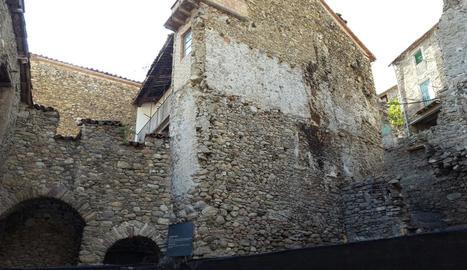 La zona on està ubicada Casa Chaubell, a Vilaller.