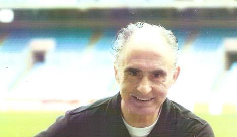 Amb 83 anys, Armando s'entrena dos o tres cops per setmana.