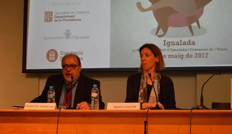 Àngels Chacón i Francesc Fàbregas