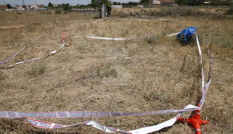 El lloc als afores de la Bordeta on va morir un dels atracadors.