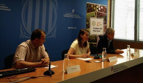 La presentació de l'informe de la Fundació Món Rural.