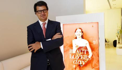 """Joaquín Serra: """"Una crema cara és la que no funciona. Si vols resultats, no esperis que sigui barata"""""""