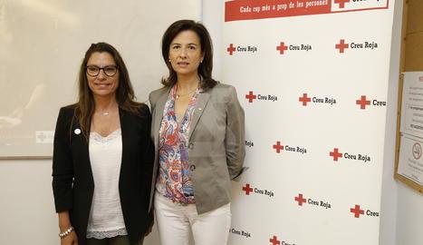 La presentació de l'Observatori de vulnerabilitat de Creu Roja.