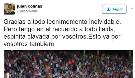 El record de Julen Colinas a Lleida