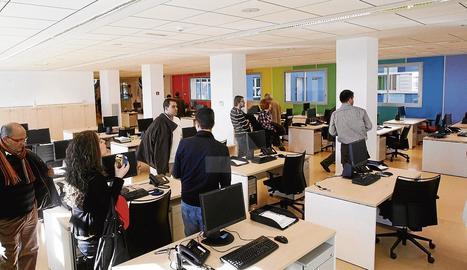 Les instal·lacions d'IFR al Parc Científic de Lleida.