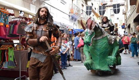 Quim Masferrer no va faltar a la cita de les Cassoles de Juneda i va representar un espectacle al qual van assistir unes 1.000 persones.