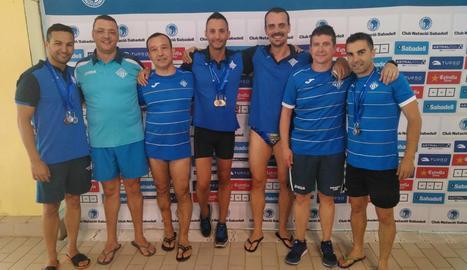 Dotze medalles per al CN Lleida en el Català de natació