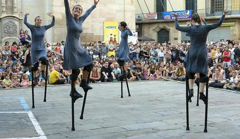 'Mulïer', de la companyia valenciana Maduixa Teatre, el setembre passat a FiraTàrrega.