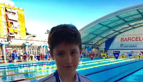 Sis medalles per a Lleida al Català benjamí de natació