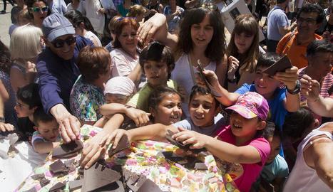 La Fira de l'Ou de Sant Guim de Freixenet registra rècord de visitants amb més de 5.000 persones
