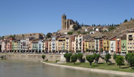 Una vista de Balaguer.