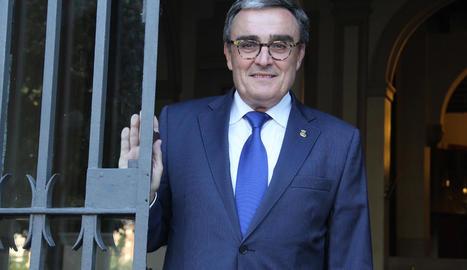 Imatge d'arxiu de l'alcalde de Lleida, Àngel Ros.