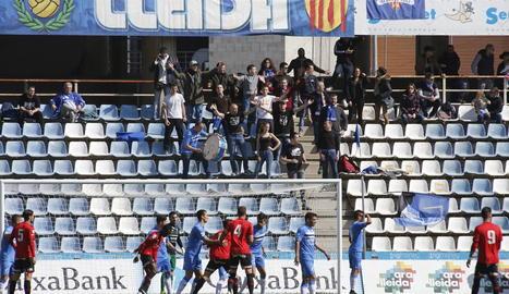 La nova Grada d'Animació del Lleida estarà situada a la zona de Gol Nord.