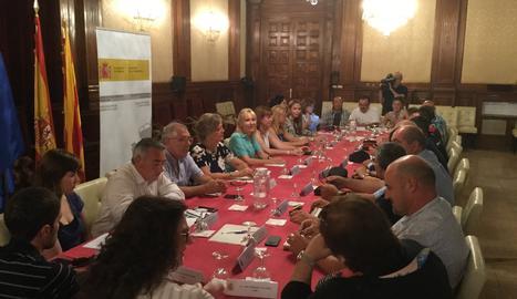 La Comissió Agrària es reuneix per avaluar la campanya desprès de les vagues de temporers al Baix Segre