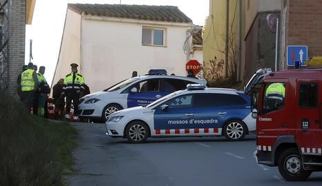L'accident va tenir lloc el passat 8 de febrer al carrer Cavalleria de les Borges.